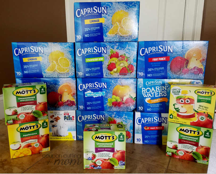 Giant Shopping Trip: $38 Worth of Capri Sun and Motts ONLY $9.25