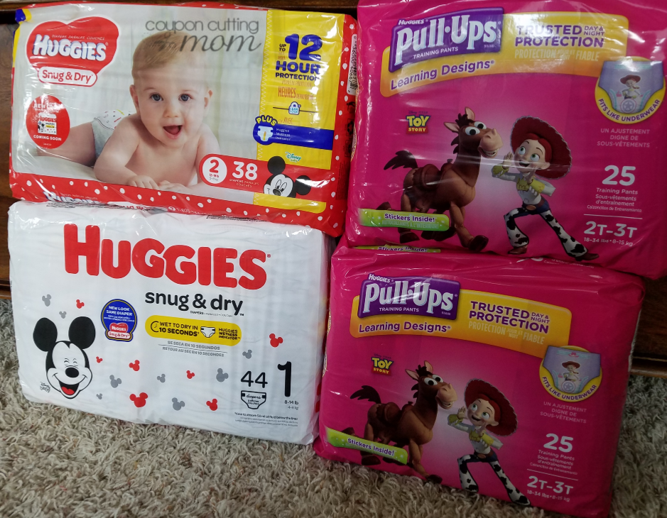 Giant: Huggies Pull-Ups and Diapers ONLY $2.99