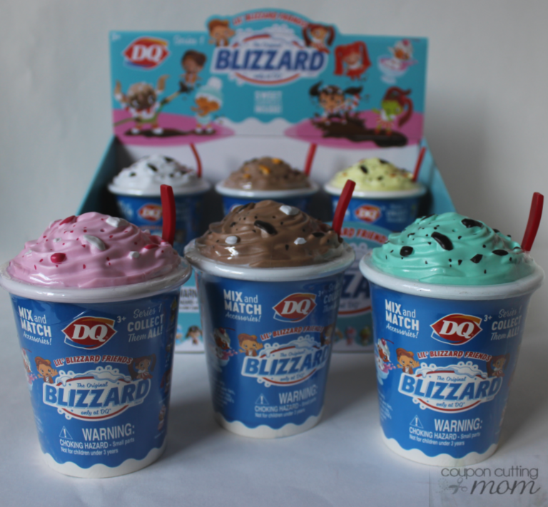 Adorable Lil' Blizzard Friends in DQ Blizzard Cups