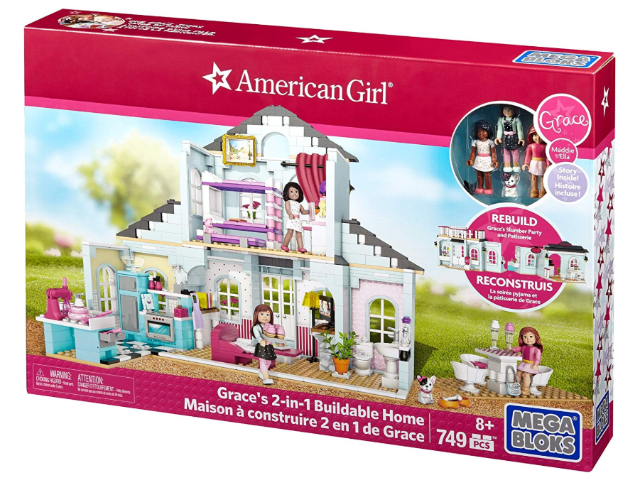 Mega Bloks American Girl Grace's 2-in-1 Buildable Home Only $37.99 - Regular Price $69.99