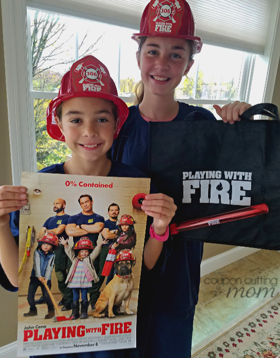 Playing With Fire Movie Ticket Giveaway + Fire Safety Tips For Your Family