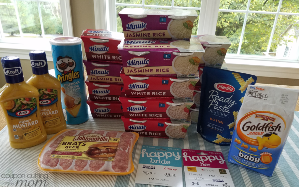 Giant Shopping Trip: $41 Worth of Minute Rice, Barilla and More ONLY $0.68