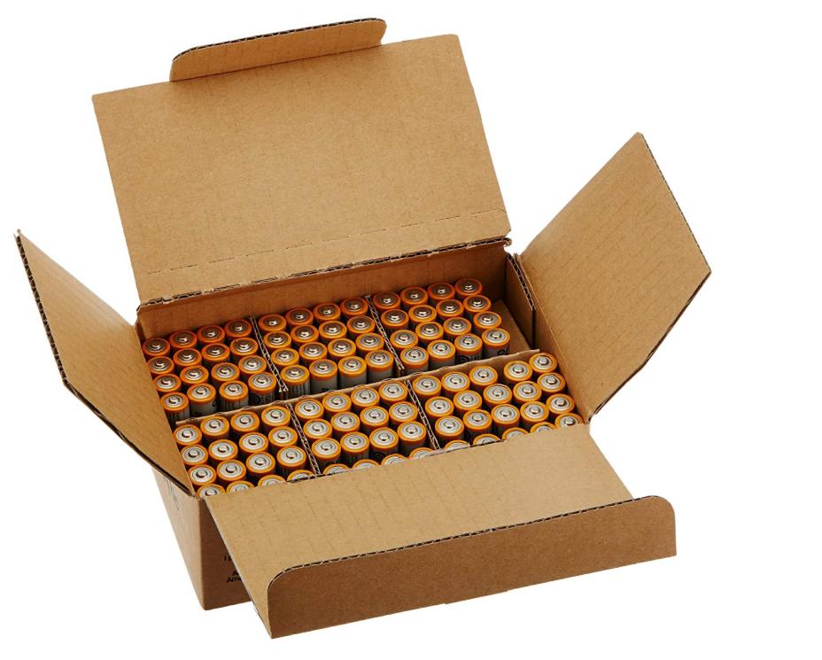 AmazonBasics AAA Alkaline Batteries - Pack of 100 Only $14.12 (Regular Price $20.96)