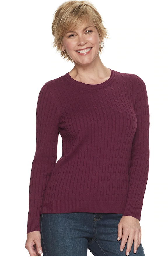 Cable Knit Pullover Sweaters as Low as $5.99 (Reg. Price $36.00)