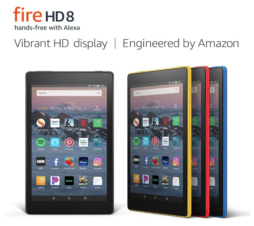 *HOT* Kindle Fire HD 8  Tablet ONLY $59.99 (Reg. Price $89.99)
