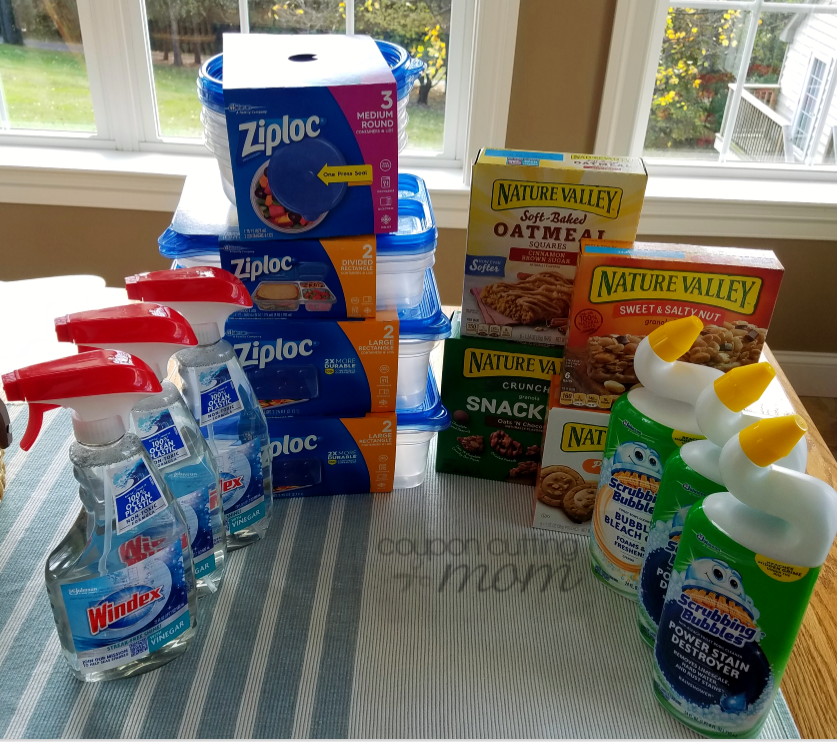 Giant Shopping Trip: $41 Worth of Windex, Ziploc and More FREE + $8.50 Moneymaker