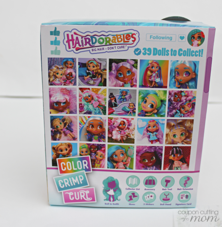 Hairdorables Collectible Surprise Dolls With Big Hair Don't Care Attitude