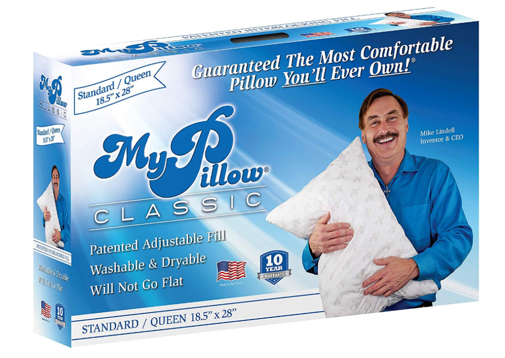 *HOT* Deal on MyPillow - Only $24.99 (Regular Price up to $99.99)