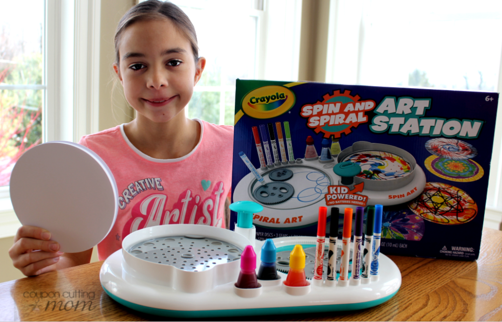 Creativity Gifts This Holiday - Crayola Scribble Scrubbie Safari and Spin and Spiral Art Station