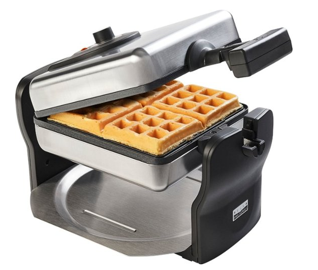 Belgian Flip Waffle Maker - 61% Off Regular Price