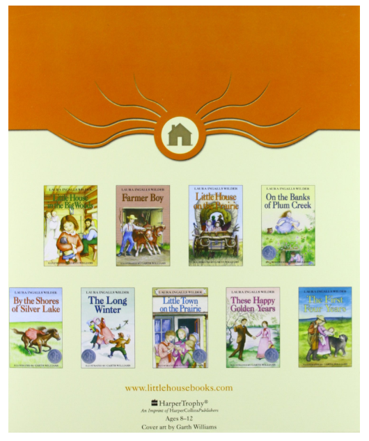 The Little House 9 Volumes Book Set - 65% Off Regular Price