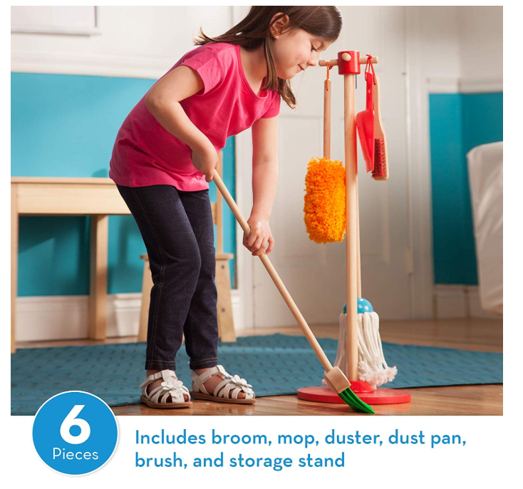 Melissa & Doug Let's Play House! Pretend Play Cleaning Set ONLY $14.39 - Regular Price $29.99