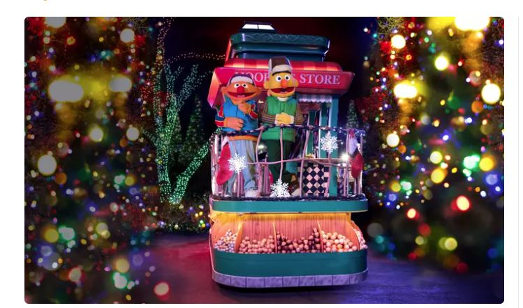 A Very Furry Christmas at Sesame Place - 47% off Regular Price Admission Price