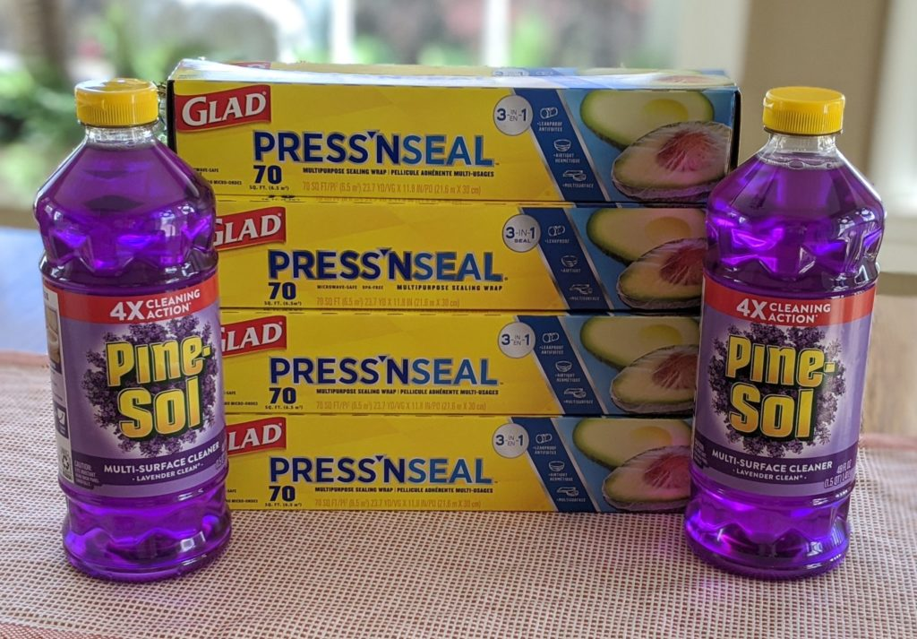 Weis: $20 Worth of Glad Press N Seal and Pine-Sol ONLY $1.00