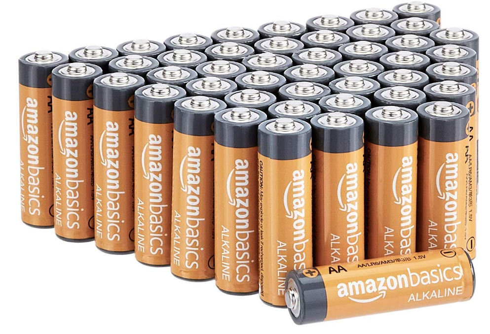 AmazonBasics AA Alkaline Batteries - Pack of 48 ONLY $8.46 - Regular Price $14.99