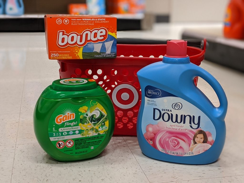 Earn a $15 Target Gift Card With Your P&G Laundry Care Items Purchase