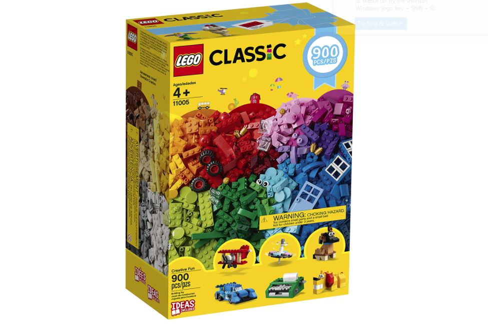 LEGO Classic Creative Fun Building Kit (900 Pieces) Only $29.99 - Reg. Price $39.99