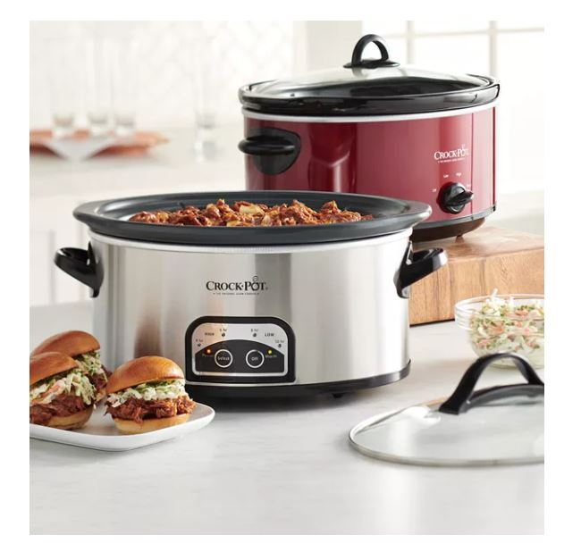 Crock-Pot Slow Cooker 7-Quart ONLY $9.54 (Regular Price $39.99)