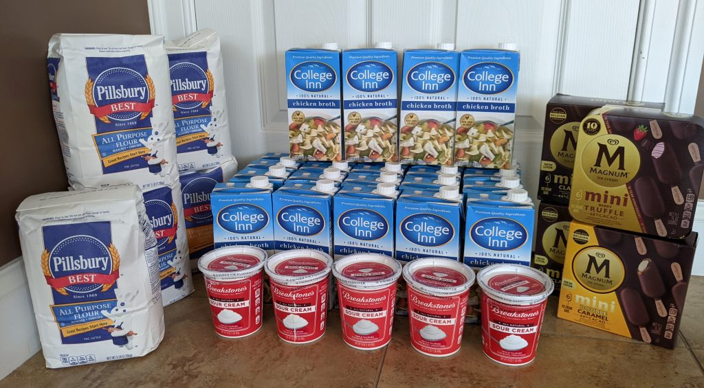 Giant Food Shopping Trip: $105 Worth of College Inn, Magnum Breakstone and More ONLY $3.65