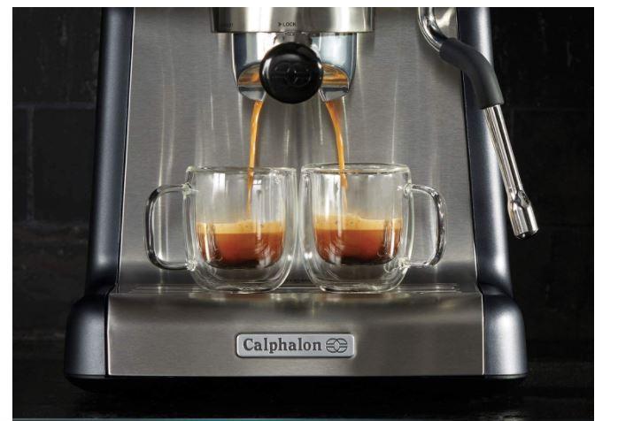 Calphalon Temp iQ Espresso Machine with Steam Wand 50% Off Regular Price