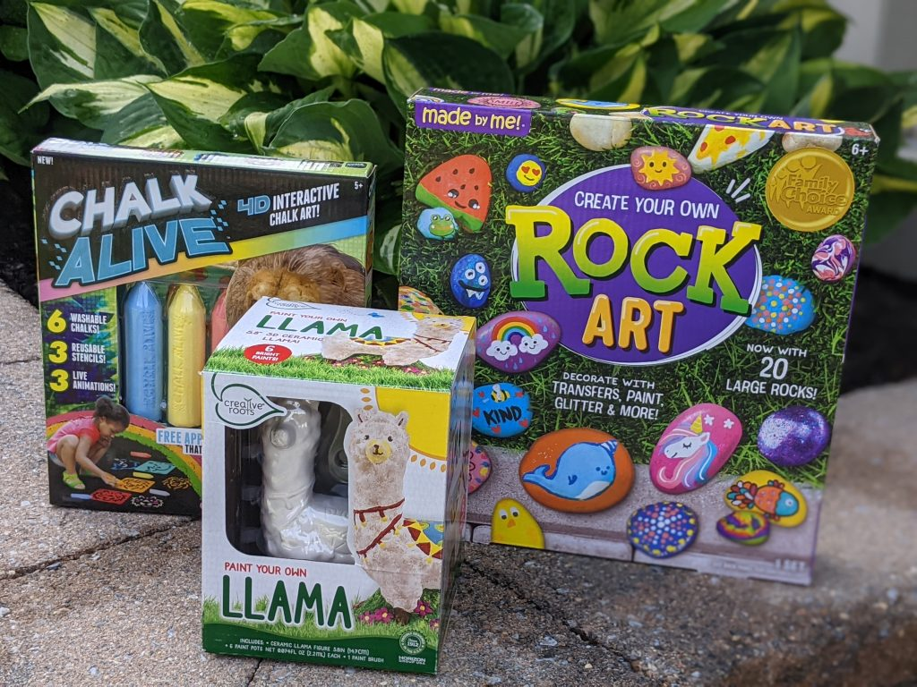 Creative Fun With Chalk Alive, Rock Art and More
